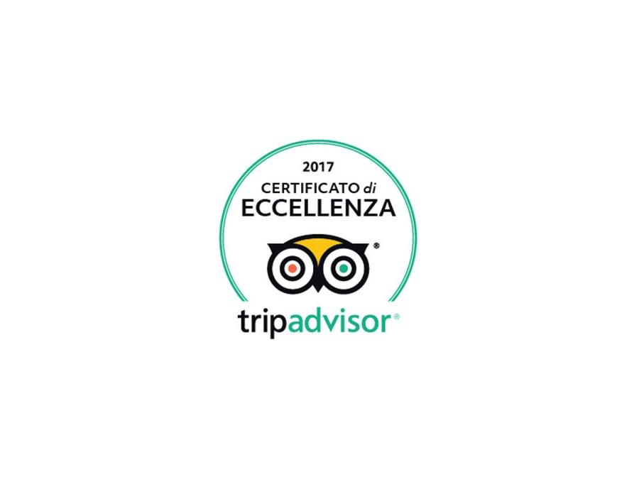 Certificato di Eccellenza - TripAdvisor