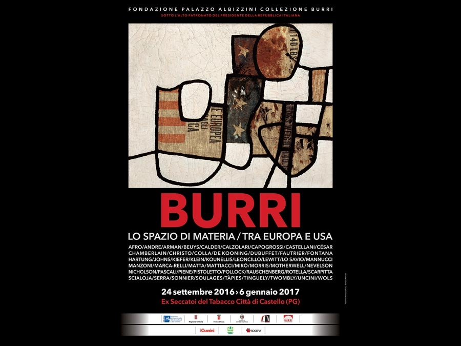 Burri: The Space Of Matter / Between Europe and The Usa
