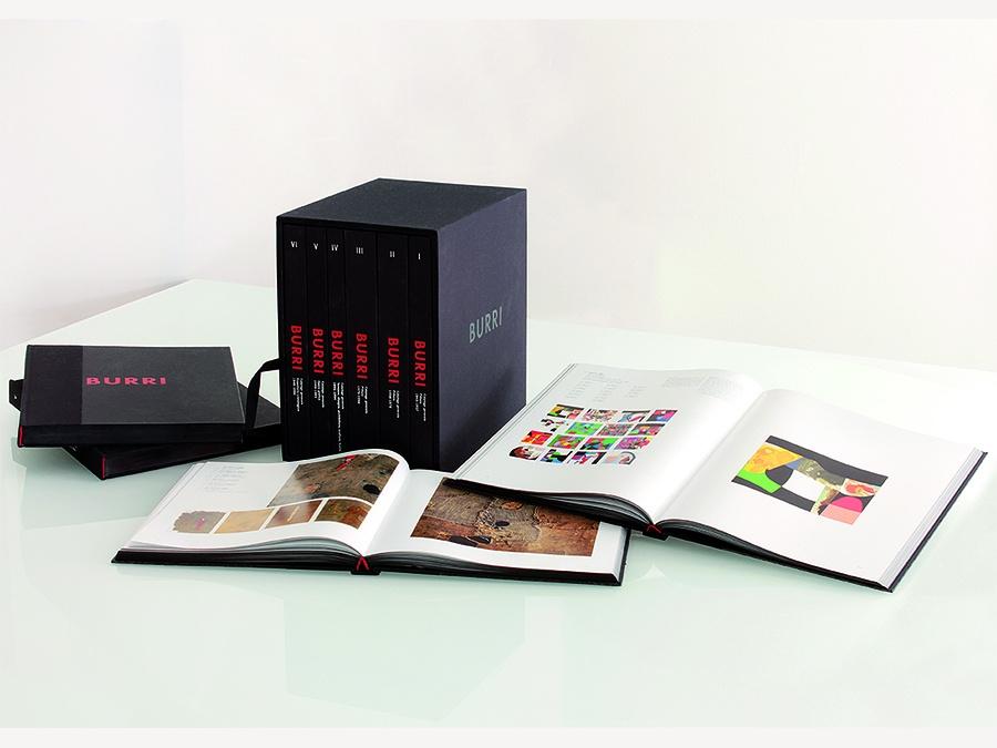 Edition of new General Catalog of Alberto Burri