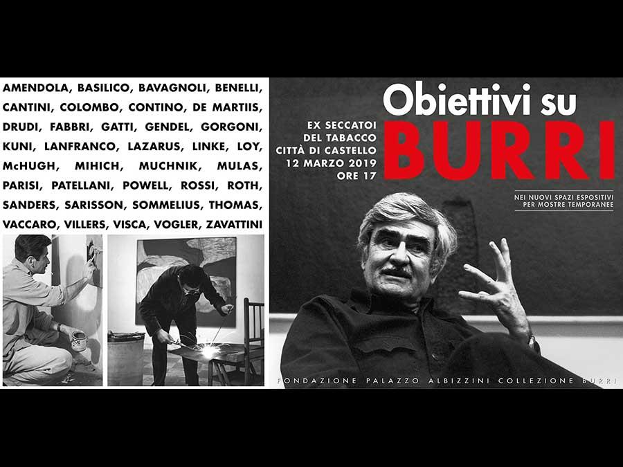 Obiettivi su Burri – Fotografie e Fotoritratti di Alberto Burri dal 1954 al 1993
