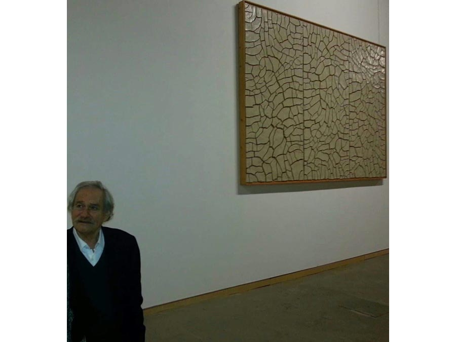 The disappearance of Jannis Kounellis. The words of condolence President Corà