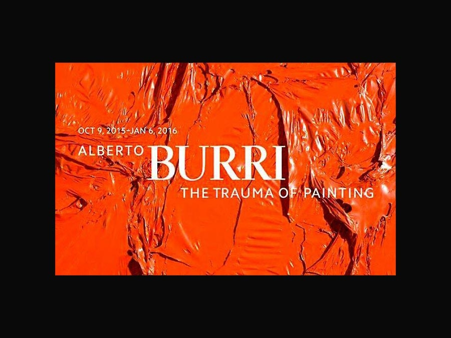Alberto Burri The Trauma of Painting